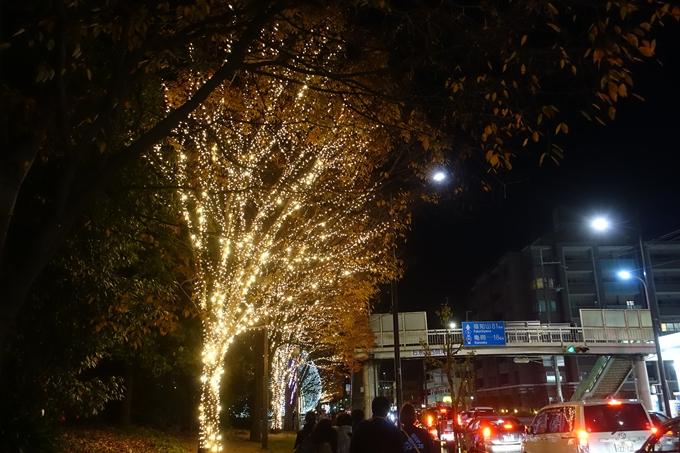 京都のライトアップ2018 ロームクリスマスイルミネーション No2