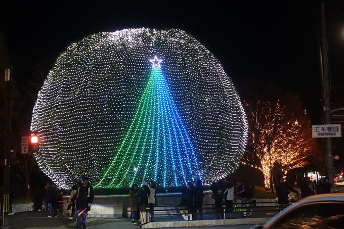 京都のライトアップ2018 ロームクリスマスイルミネーション No3