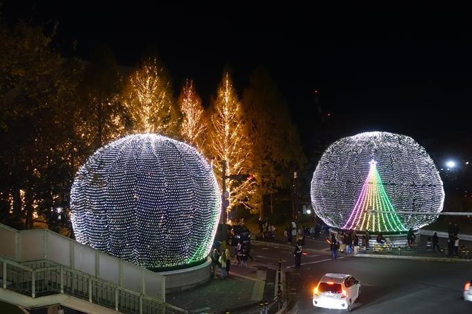 京都のライトアップ2018 ロームクリスマスイルミネーション No4