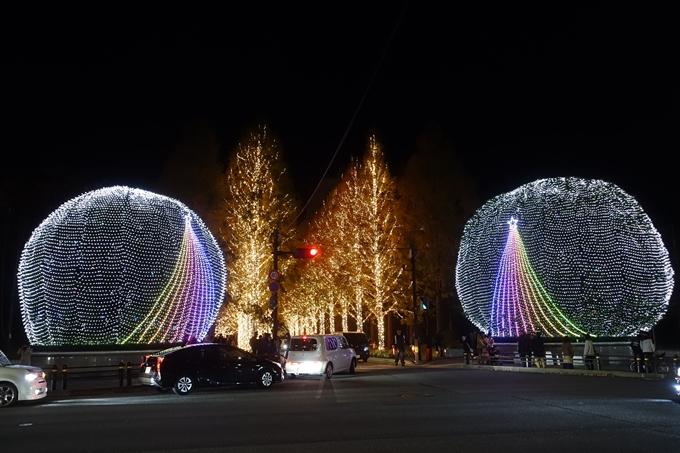 京都のライトアップ2018 ロームクリスマスイルミネーション No5