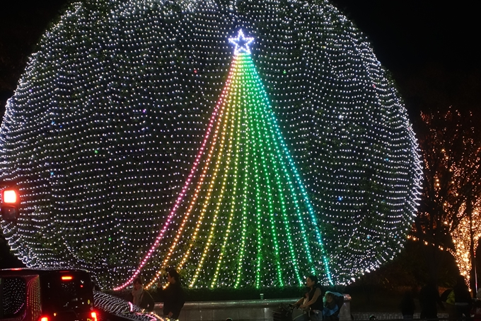 京都のライトアップ2018 ロームクリスマスイルミネーション No6