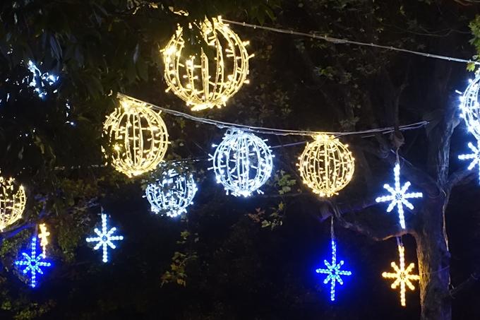 京都のライトアップ2018 ロームクリスマスイルミネーション No14