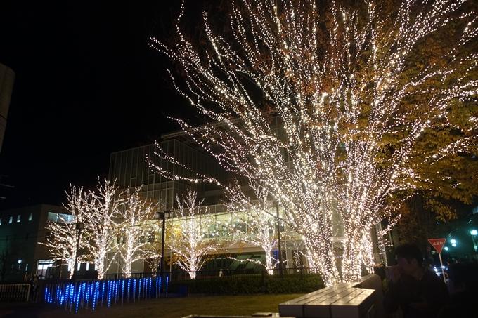 京都のライトアップ2018 ロームクリスマスイルミネーション No15