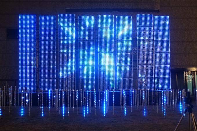 京都のライトアップ2018 ロームクリスマスイルミネーション No16