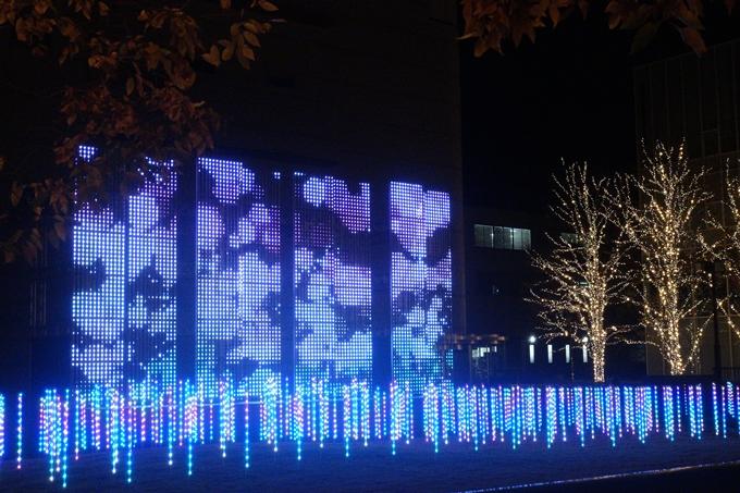 京都のライトアップ2018 ロームクリスマスイルミネーション No19