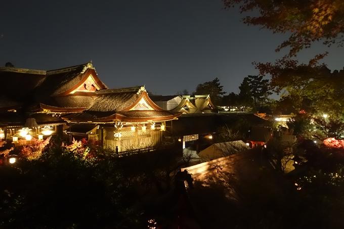 京都のライトアップ2018 北野天満宮 No17