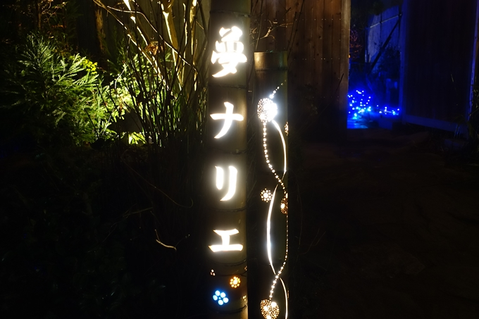 京都のライトアップ2018 丹波夢ナリエ No40