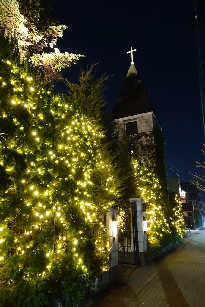 北山ウェディングストリート クリスマスイルミネーション No2