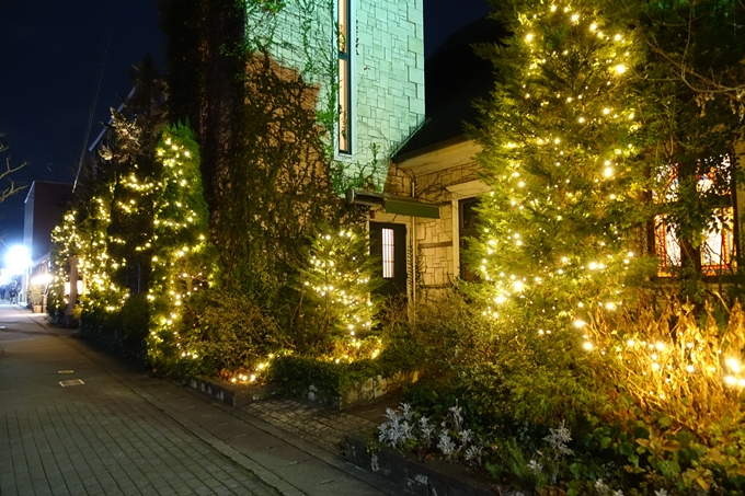 北山ウェディングストリート クリスマスイルミネーション No9