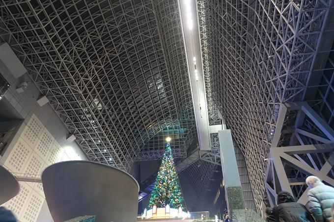 京都のライトアップ2018 京都駅ビル No7