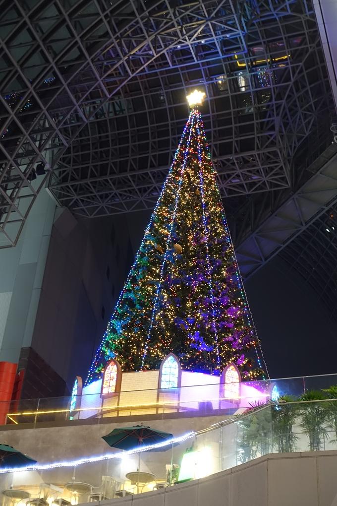京都のライトアップ2018 京都駅ビル No8