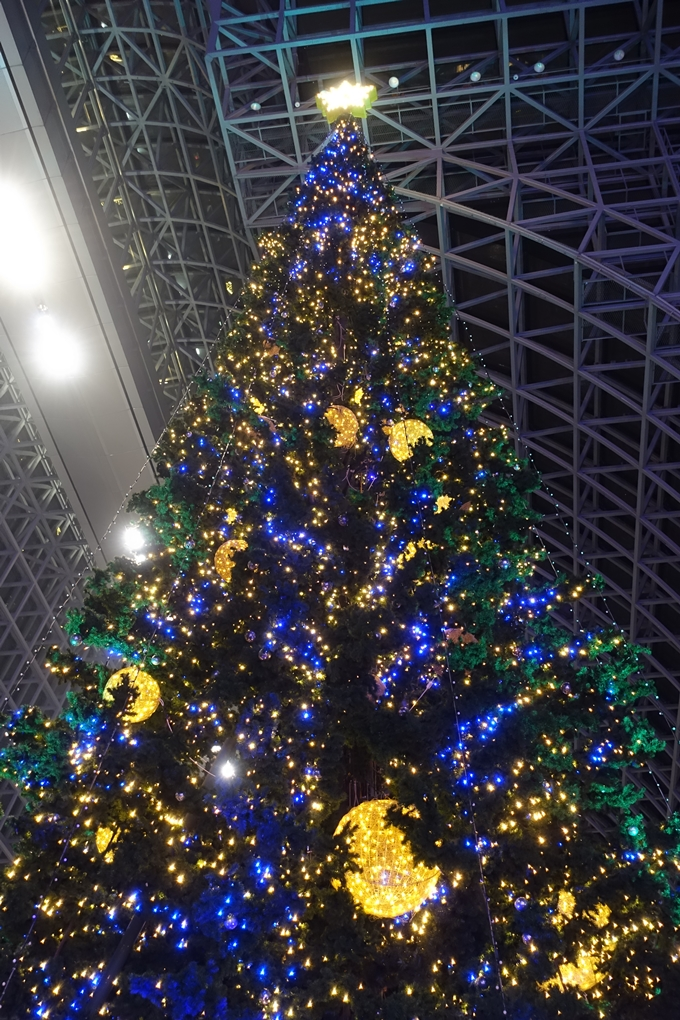 京都のライトアップ2018 京都駅ビル No14