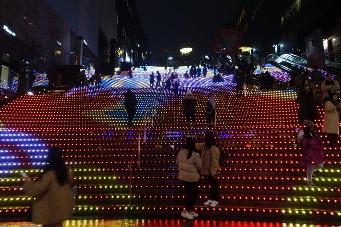 京都のライトアップ2018 京都駅ビル No16