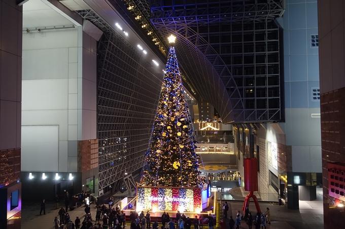 京都のライトアップ2018 京都駅ビル No17