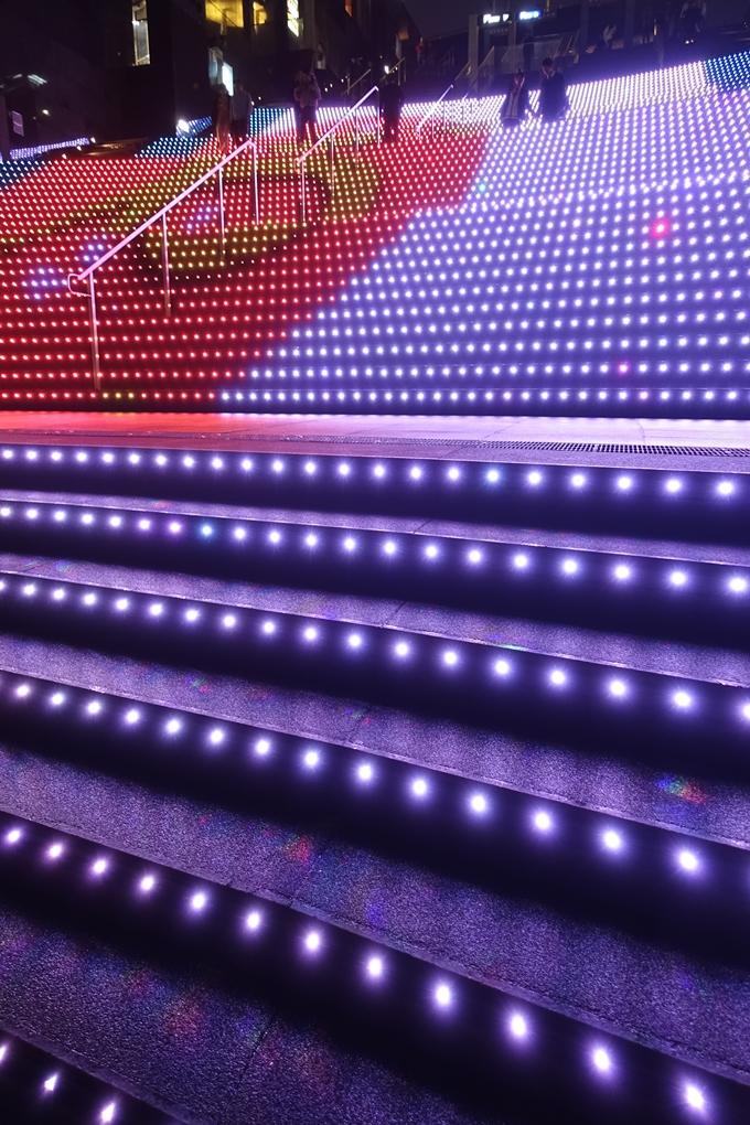 京都のライトアップ2018 京都駅ビル No18