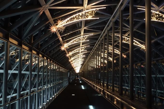 京都のライトアップ2018 京都駅ビル No22