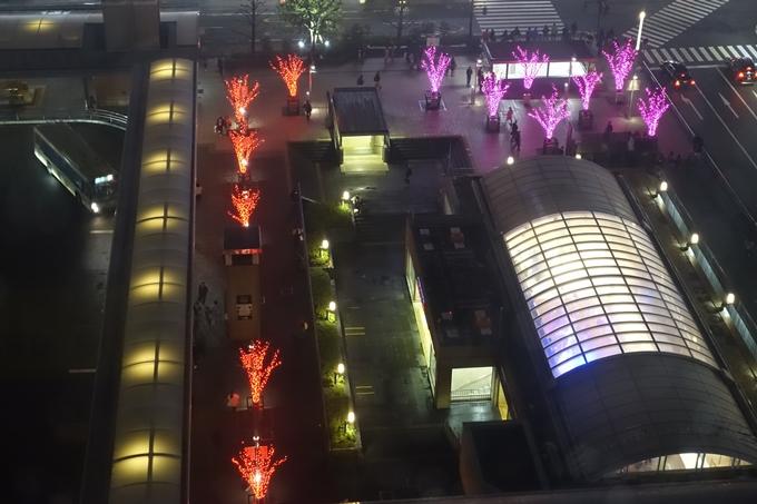京都のライトアップ2018 京都駅ビル No23
