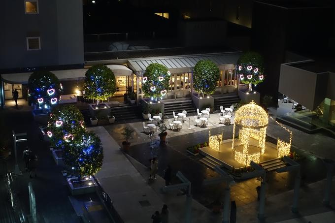 京都のライトアップ2018 京都駅ビル No25