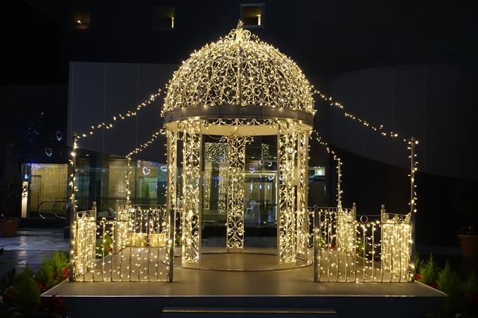 京都のライトアップ2018 京都駅ビル No29