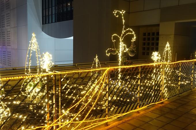 京都のライトアップ2018 京都駅ビル No30