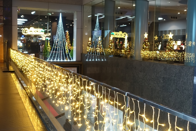 京都のライトアップ2018 京都駅ビル No34