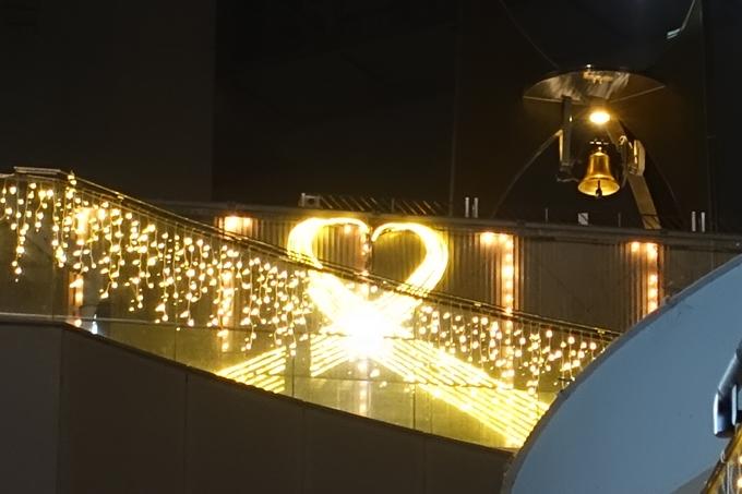 京都のライトアップ2018 京都駅ビル No35