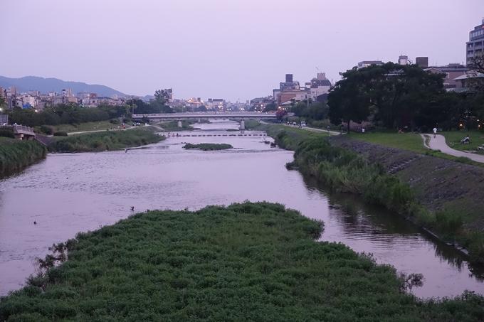 京の七夕_2019_鴨川 No2