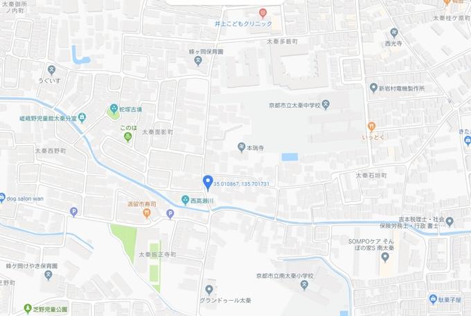 安養寺町自治会会議所横の神社 No2