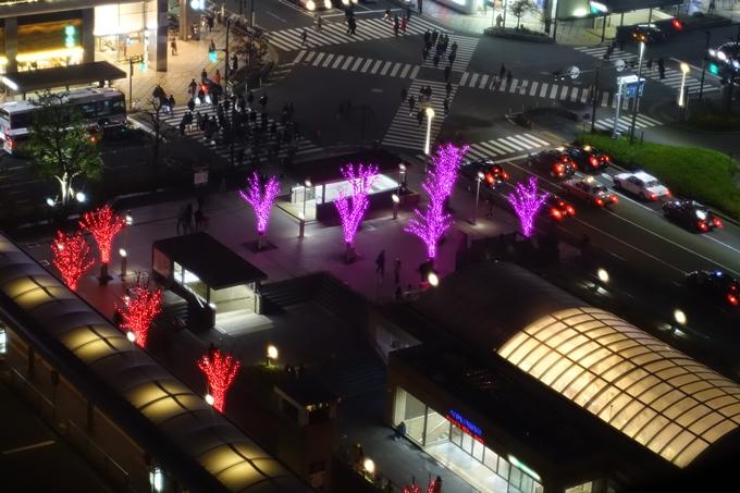 京都駅ビル_イルミネーション No12