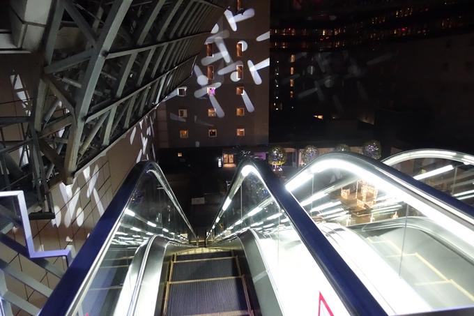 京都駅ビル_イルミネーション No15