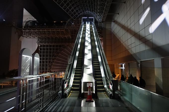 京都駅ビル_イルミネーション No18