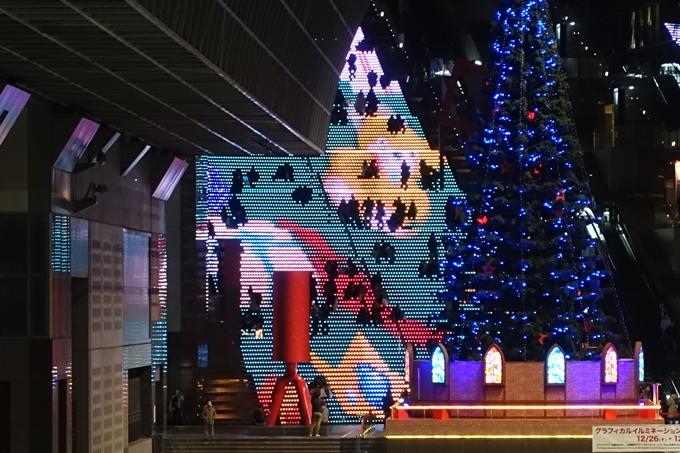 京都駅ビル_イルミネーション No29
