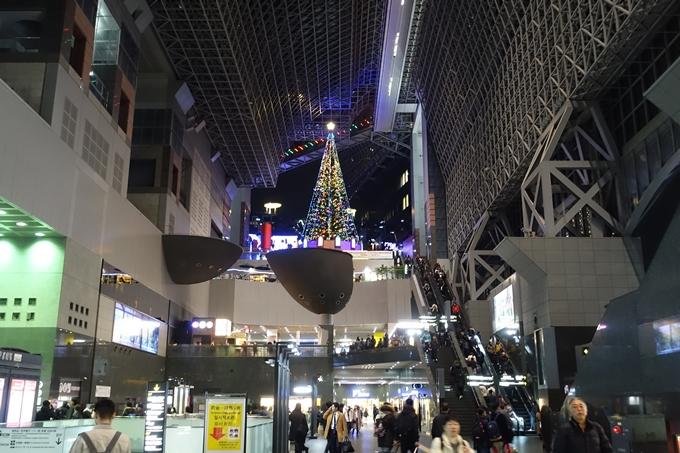 京都駅ビル_イルミネーション No33