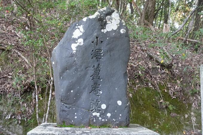 小沢蘆庵の墓 No15