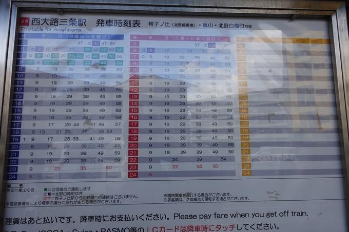 嵐電_西大路三条 No5