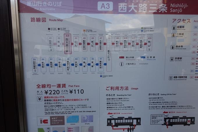 嵐電_西大路三条 No6