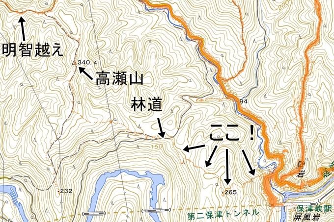 明智越え_高瀬山 No116