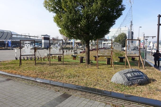 麒麟がくる_JR福知山駅前ロータリー No5
