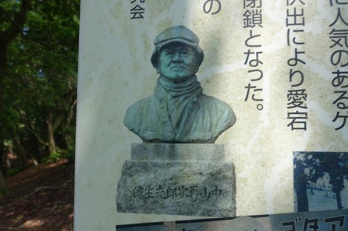 愛宕山 中山再次郎像跡 No43