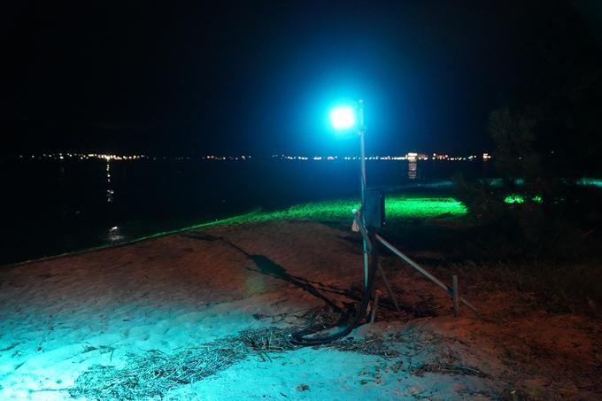 光のアトリエ_2021_天橋立砂浜ライトアップ No15