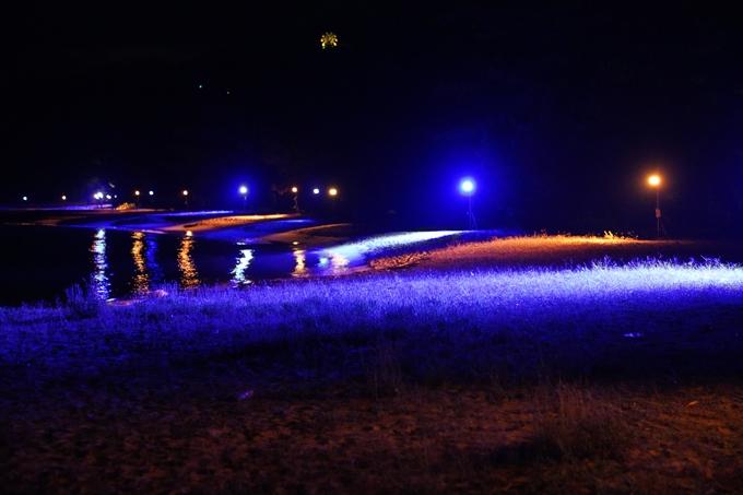 光のアトリエ_2021_天橋立砂浜ライトアップ No19