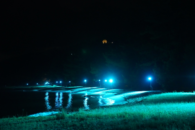 光のアトリエ_2021_天橋立砂浜ライトアップ No21