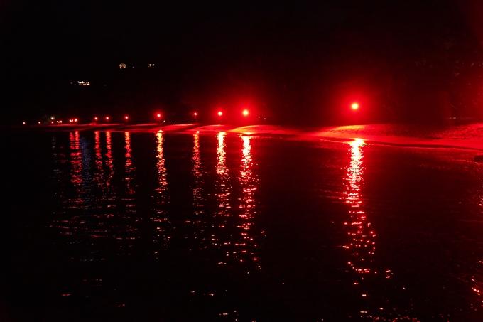 光のアトリエ_2021_天橋立砂浜ライトアップ No24